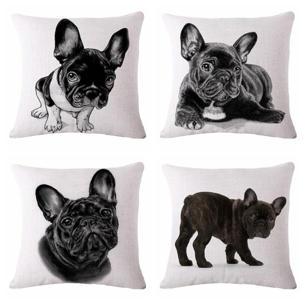French Bulldog Pillow Covers